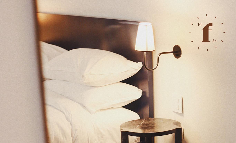 Betten des Hotels Federwerk.